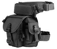 Набедренная поясная сумка TacticBag RVL A90-черный