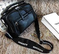 Женская кожаная сумка , сумки через плечо кросс боди клат натуральная кожа