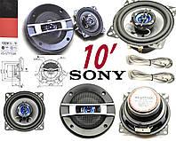 Динамики для авто акустика Sony XS-GTF1026 100W 10см колонки, фото 1