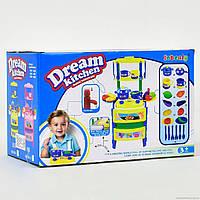 Крута іграшкова кухня, музика, світло (плита, духовка, посуд, продукти), фото 1