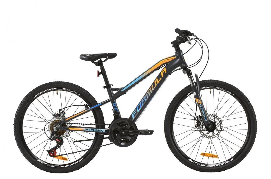 """Велосипед подростковый универсальный 24"""" Formula Blackwood 2.0 2020 алюминиевая рама 12.5"""""""
