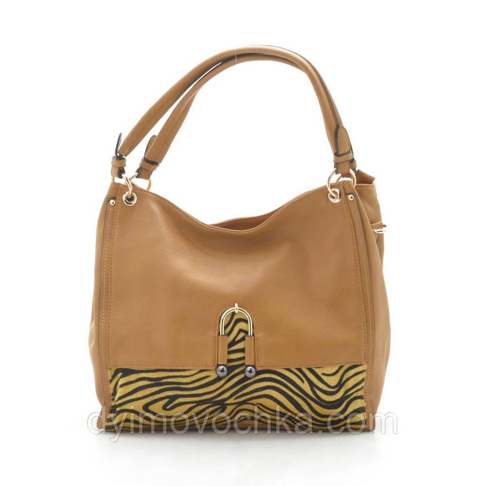 Жіноча сумка D3317 yellow, кожзам