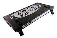 Подставка-кулер Notebook cooling pad Х-764 (S06514)