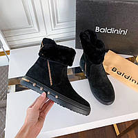 Ботинки замшевые Baldinini