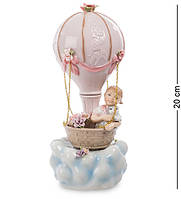 Статуэтка музыкальная Pavone Девочка на воздушном шаре 20 см 1106058