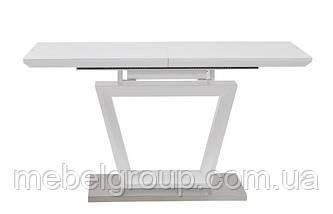 Стол ТММ-51 белый матовый 140/180x80, фото 2
