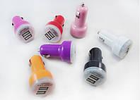 Автомобильное зарядное устройство на два USB-разъема, фото 1