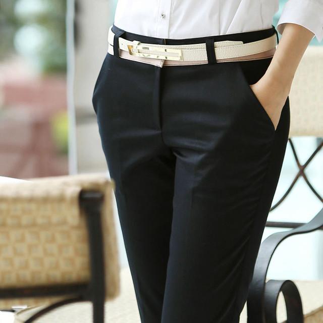женские стильные брюки саншоп