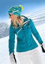 Куртка White Season softshell жіноча блакитна W 36