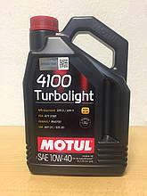 Масло MOTUL 4100 Turbolight 10W-40 4л (100355)