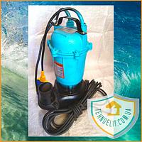 Фекальный насос Delta WQD1-1.1, 1.1 кВт. Дренажный насос. Насос для откачки. Насос для канализации.