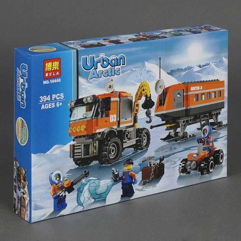 """Конструктор 10440 Bela Urban (24) 394 дет, """"Арктическая мобильная станция"""" в коробке"""