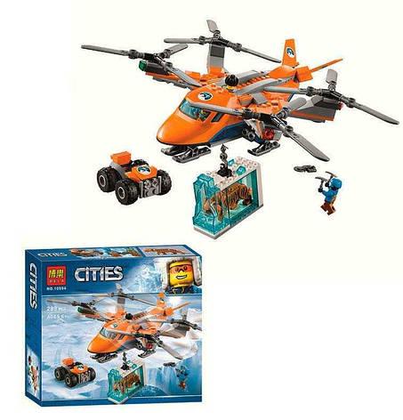 """Конструктор 10994 (24) Bela Cities """"Арктический вертолёт"""", 289 деталей, в коробке , фото 2"""