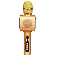 Беспроводноймикрофон для караоке L20 с LED подсветкой (S06637)