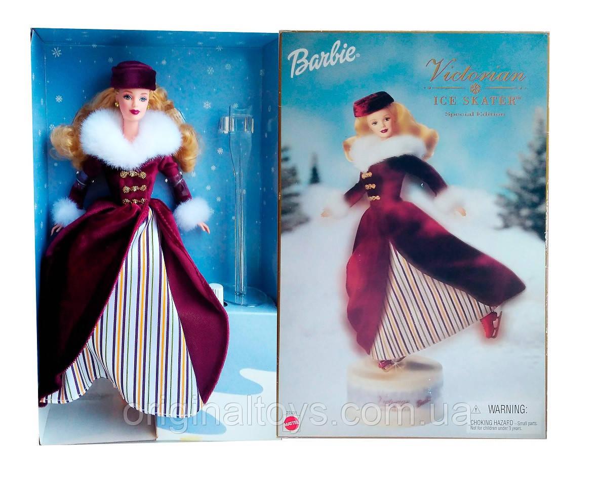 Коллекционная кукла Барби Фигуристка Barbie Victorian Barbie Ice Skater 2000 Mattel 27431