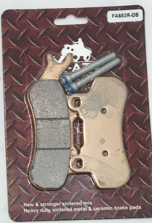 Тормозные колодки Can-Am Maverick Traxter Defender (OEM FA683R; OEM 715900387)
