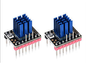 TMC2208 v3 UART с радиатором 1/256 набор из 5 шт.