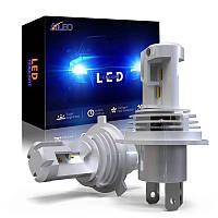 Светодиодные лампы Led AILEO H4 (ближний/дальний) 12000LM 6000K  12V - 24V