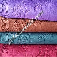 Банное полотенце микрофибра Леди, фото 1