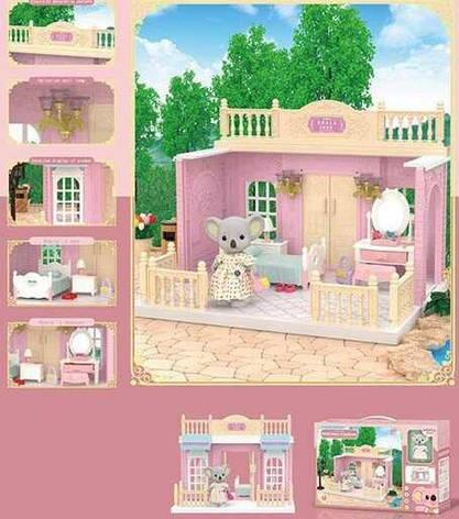 """Домик Коалы FDE 8657 (36) """"Спальня"""", 1 фигурка, с мебелью, в коробке, фото 2"""