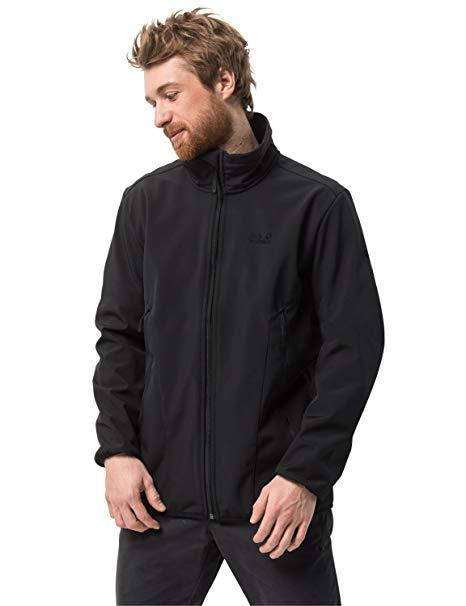 Jack Wolfskin Northern Pass BLACK M,L,XXL | куртка soft shell чоловіча