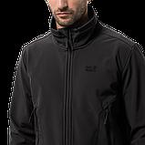 Jack Wolfskin Northern Pass BLACK M,L,XXL | куртка soft shell чоловіча, фото 4