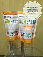 Органічні льодяники з вітаміном C, цитрусовий смак YumEarth, (93.5 г)
