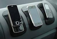 Антискользящий коврик, держатель в автомобиль для телефона, черный