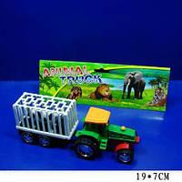 Трактор инерционный A900 с прицепом, животным
