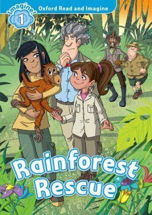 Rainforest Rescue with Audio CD, фото 2