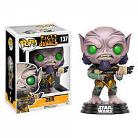 Фигурка Funko POP! Star Wars Rebels - Zeb Vinyl Figure, 10775, 10см