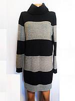 Платье женское трикотажное теплое свитер туника Tommy Hilfiger Denim (Размер 44-46 (S))