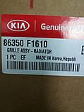 Решетка радиатора киа Спортейдж 4 GtLine, KIA Sportage 2019- Qle, 86350f1610, фото 4