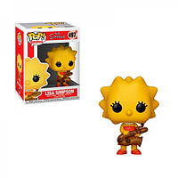 Фигурка Funko POP! The Simpsons: Lisa with Saxophone Vinyl Figure, 33877, 10см