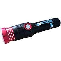 Ручной Фонарик Bailong BL-736-T6 с USB