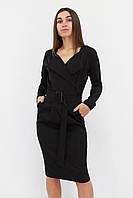 S, XL / Вишукане класичне жіноче плаття Mishell, чорний