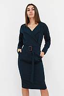 S, XL / Вишукане класичне жіноче плаття Mishell, зелений