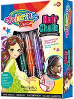 Подарочный набор для декора волос 5 стандартных смываемых оттенков  Colorino         37015PTR