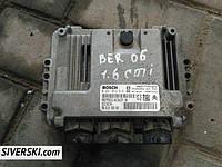 Блок управления двигателем Citroen Berlingo/Peugeot Partner 1.6 HDi