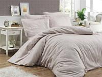 Комплект постельного белья First Сhoice Herra Sampanya жаккардовый 220*200 см бежевый