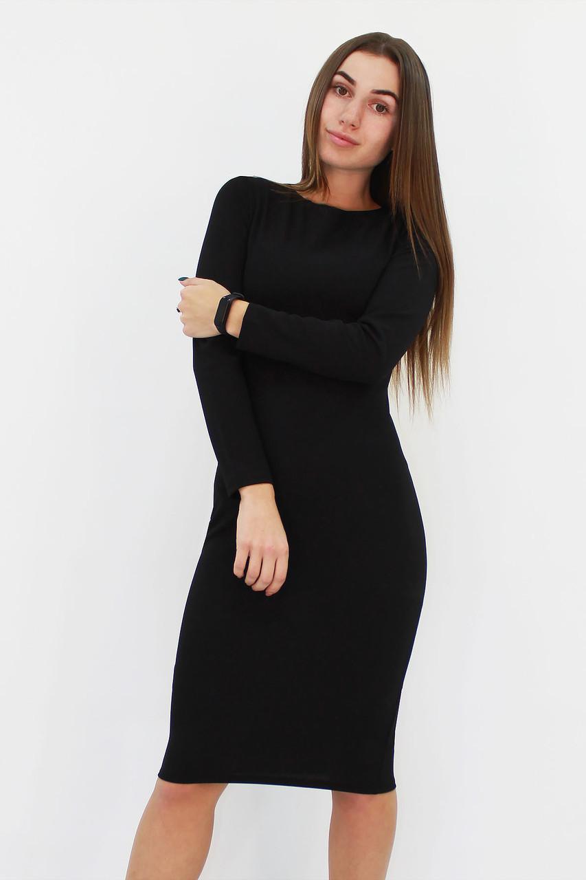 S, M, L, XL / Зручне повсякденне плаття-футляр Helga, чорний