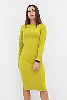 S, M, L, XL / Зручне повсякденне плаття-футляр Helga, гірчиця