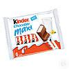 Шоколад молочний Kinder Chocolate Maxi з молочною начинкою 6 шт