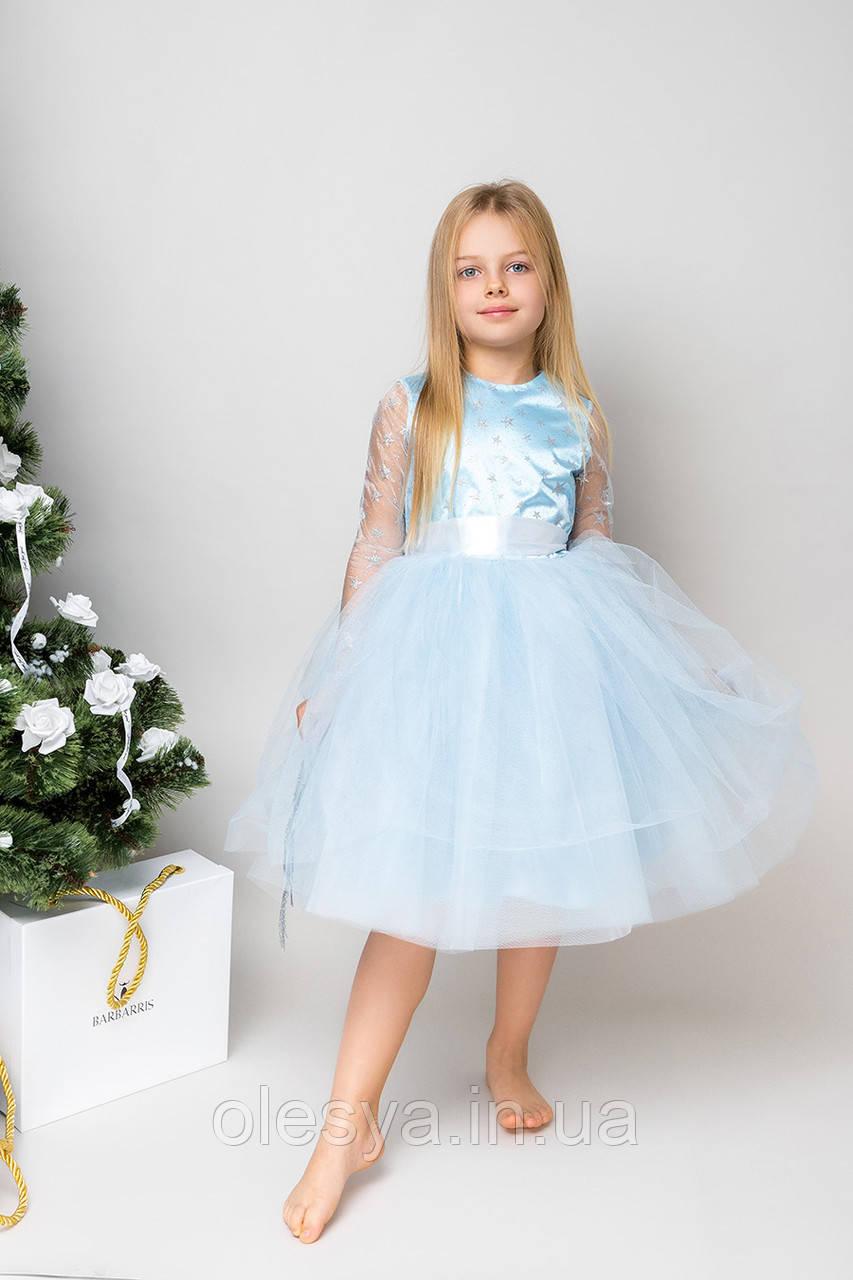 Детское праздничное платье на девочку NP-6 TM Barbarris Размеры 104-134