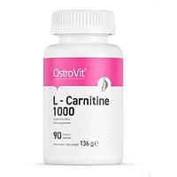 OstroVit, Карнитин L-Carnitine 1000, 90 таблеток