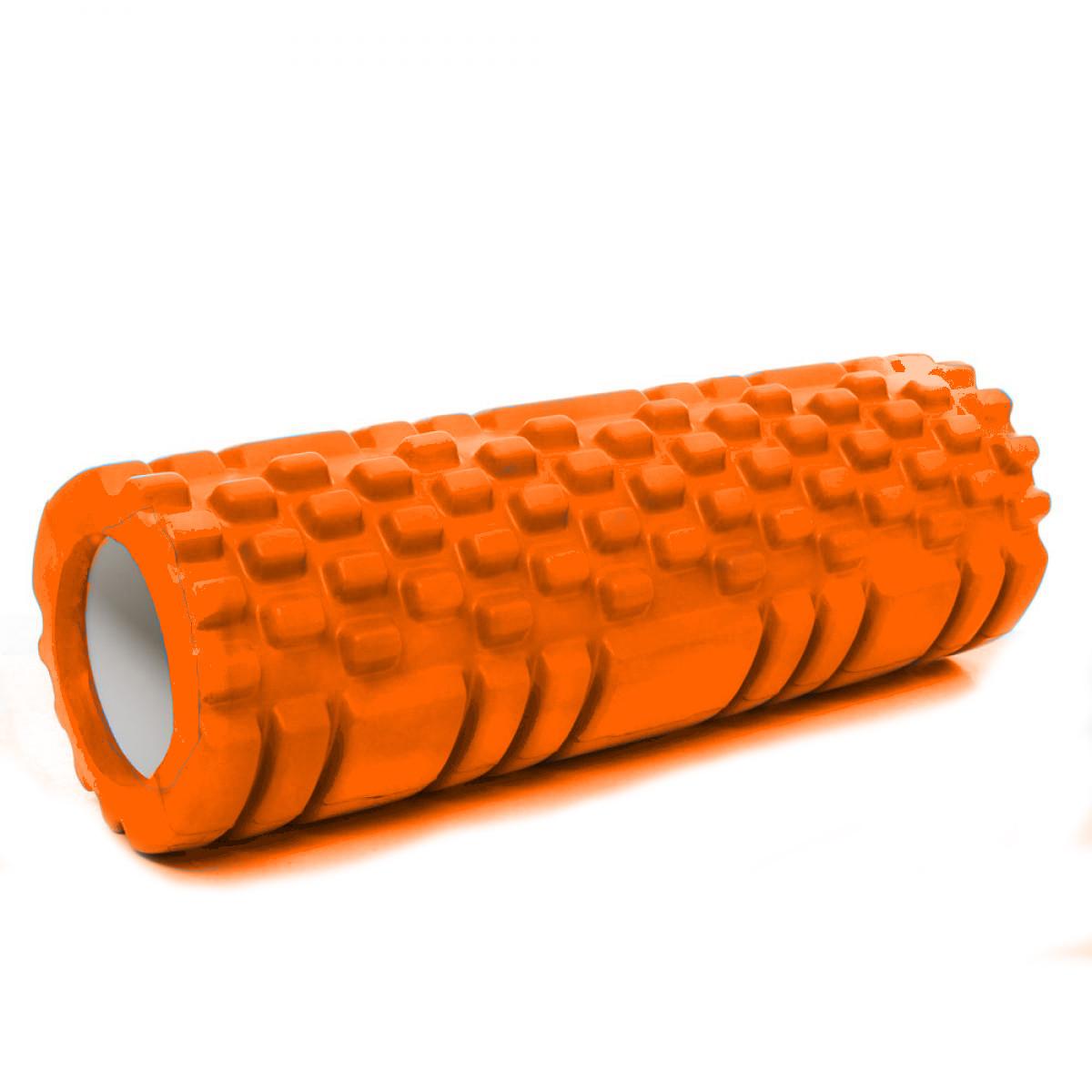 Валик (ролик, роллер) масажний для йоги, фітнесу (спини і ніг) OSPORT (MS 1836) Помаранчевий