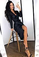 Платье Мария черное с-м