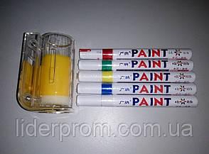 Набір для м мічення бджоломаток: 5  маркерів та пристрій флобер., фото 2