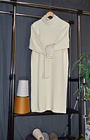Вязаное платье из мериноса. Платье оверсайз, фото 1