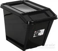 Ящик для хранения Plast Team 2379 с наклоном 58 л 438x650x395 мм